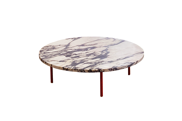 round table low marble
