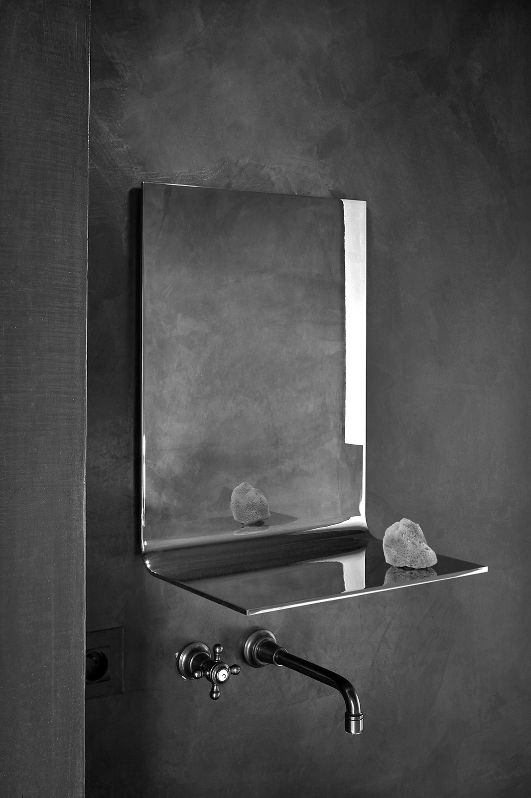 bended mirror