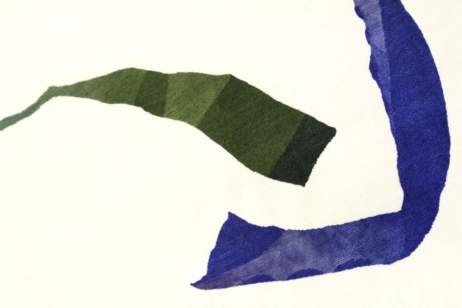 carpet blue green