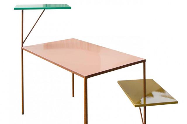 3 pieces desk